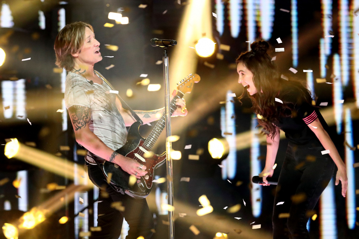 Keith Urban Amy Shark