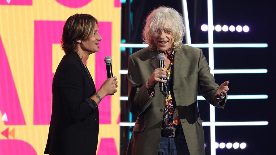 Keith Urban Bob Geldof
