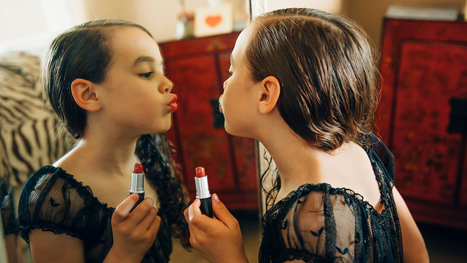 Chemicals in cosmetics have been linked to the early onset of female puberty.
