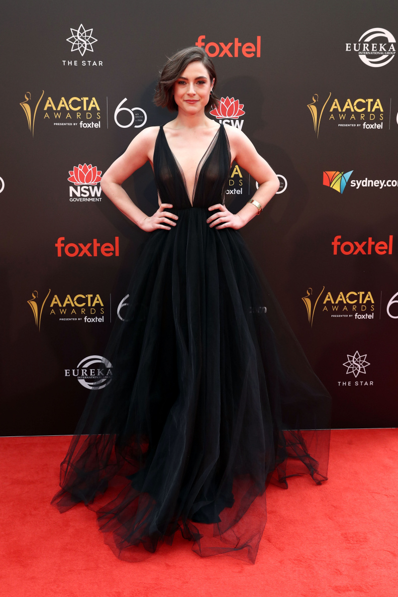 Kate Cheel AACTAs 2018