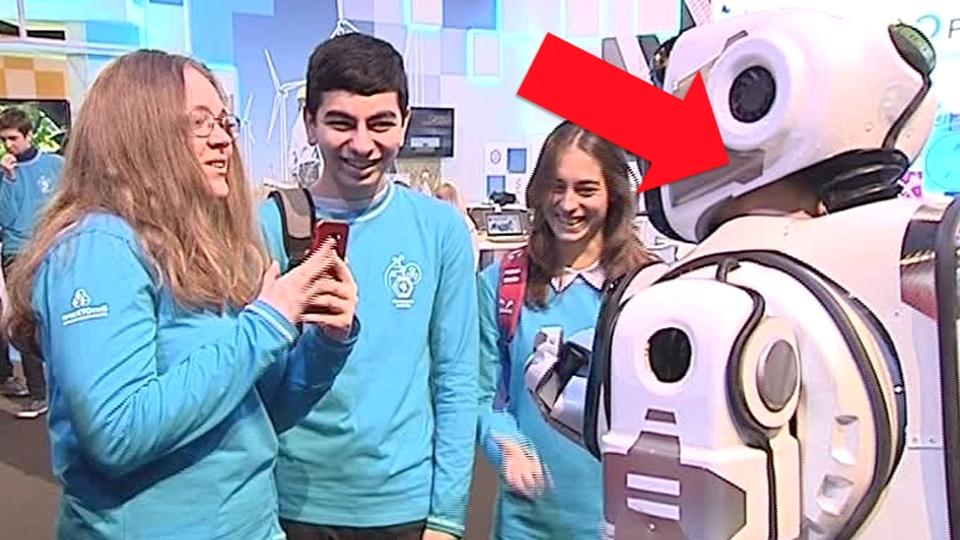boris robot man in suit