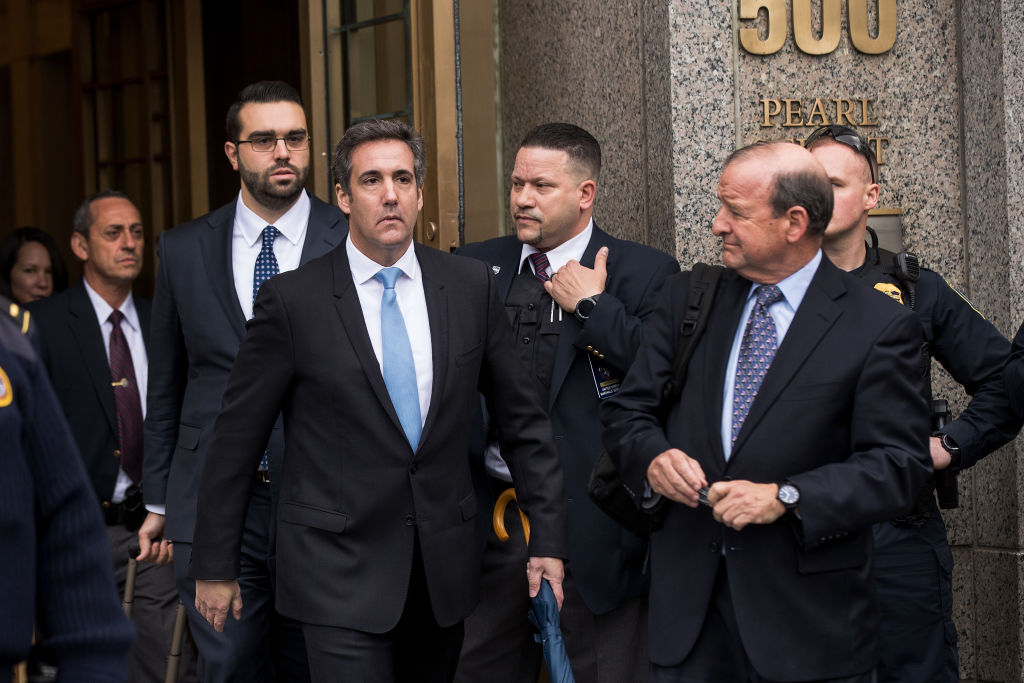 cohen confessions could mean end for Trump