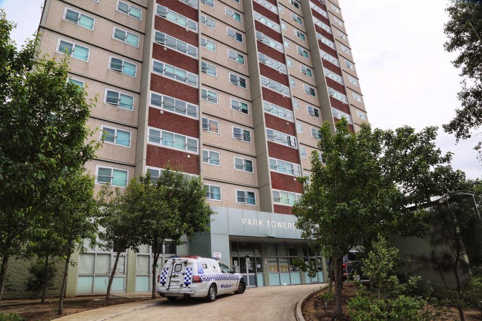 south melbourne public housing block