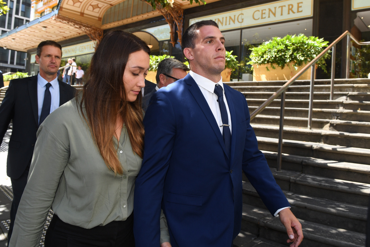 bulldogs players escape jail time