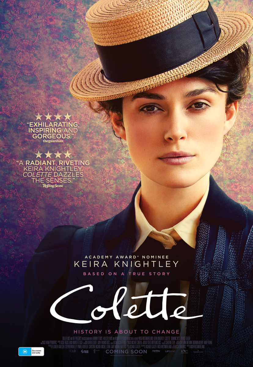 Keira Knightley's latest film Colette shows the British