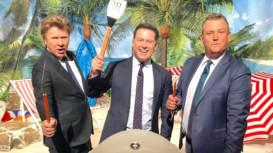 Karl Stefanovic Richard Wilkins Tim Gilbert
