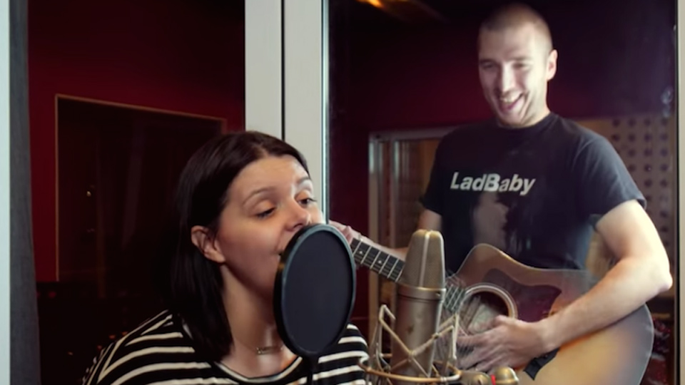 LadBaby Mark and Roxanne