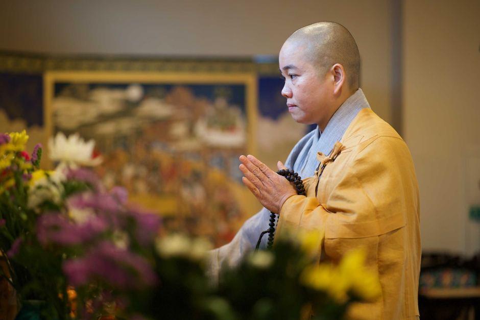 buddhist nun thich tam tri
