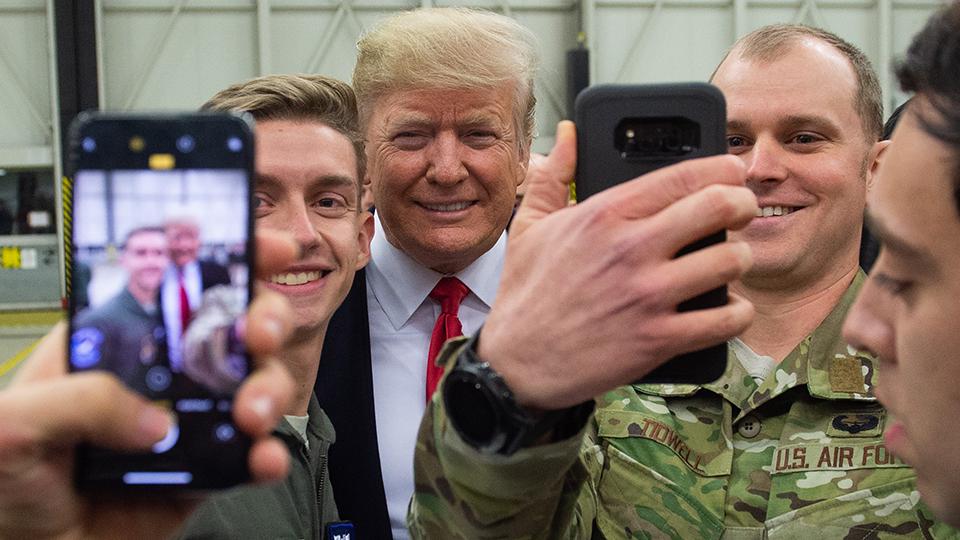 Donald Trump Iraq troops