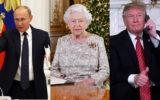 Vladimir Putin the Queen Donald Trump