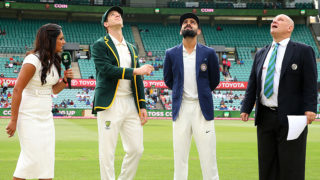 Coin toss fourth Test