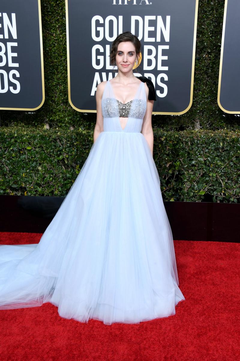 Alison Brie Golden Globes 2019