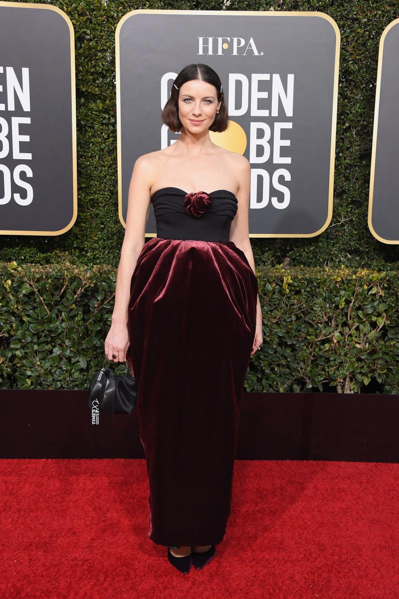 Caitriona Balfe Golden Globes 2019
