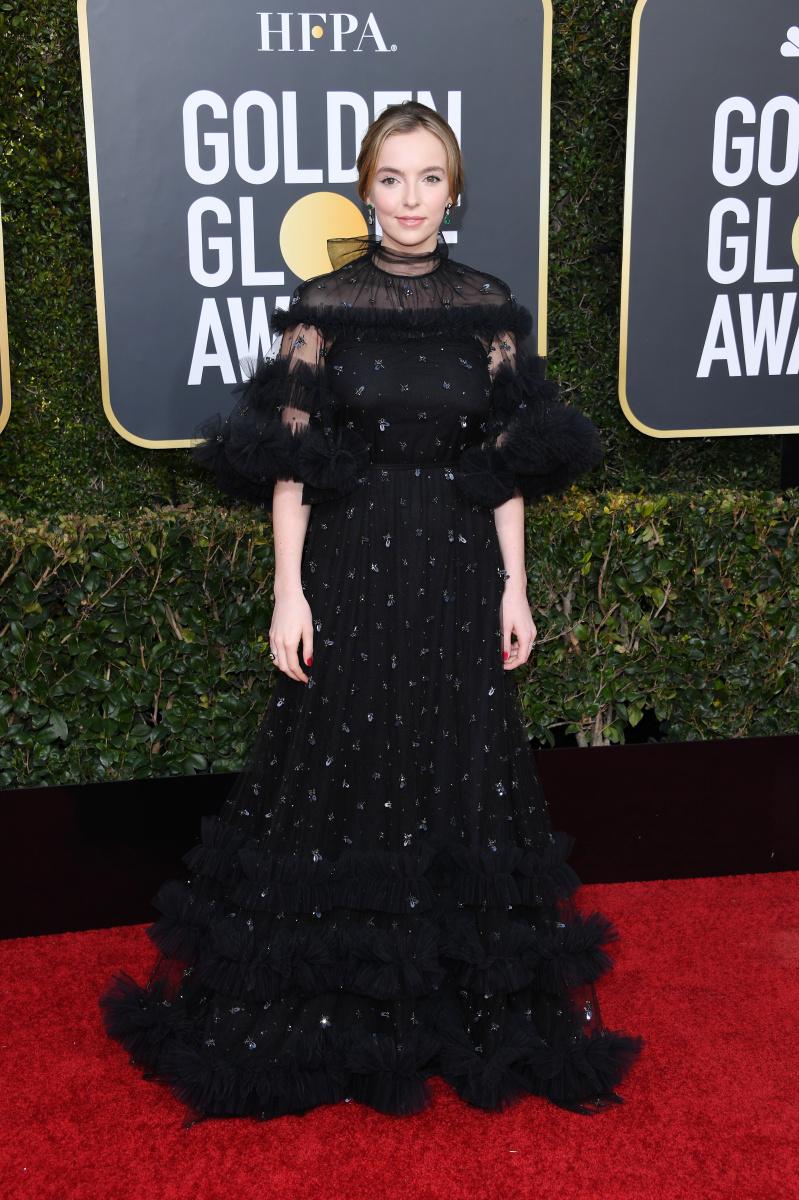 Jodie Comer 2019 Golden Globes