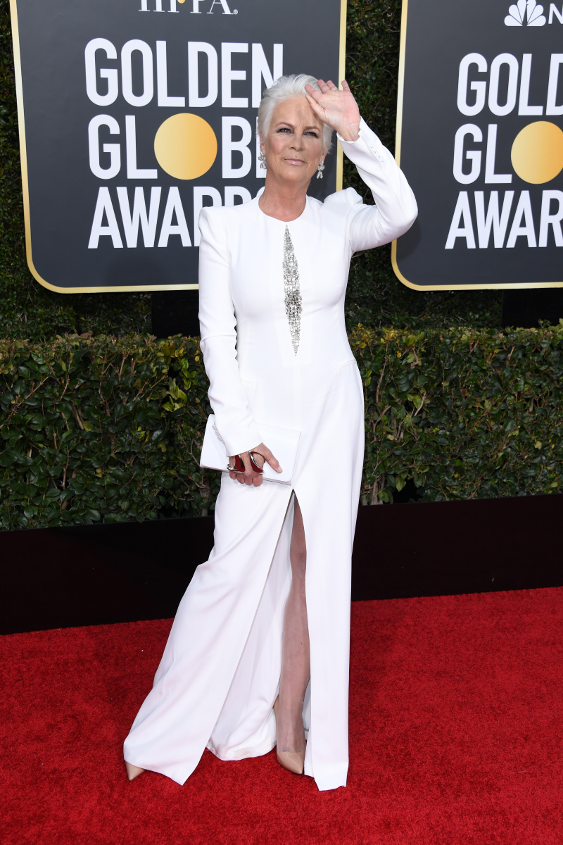 Jamie Lee Curtis 2019 Golden Globes