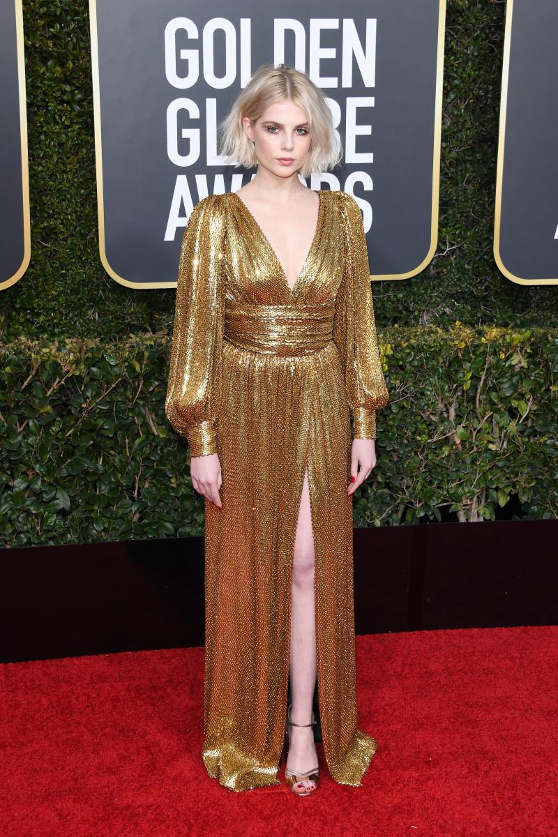 Lucy Boynton 2019 Golden Globes