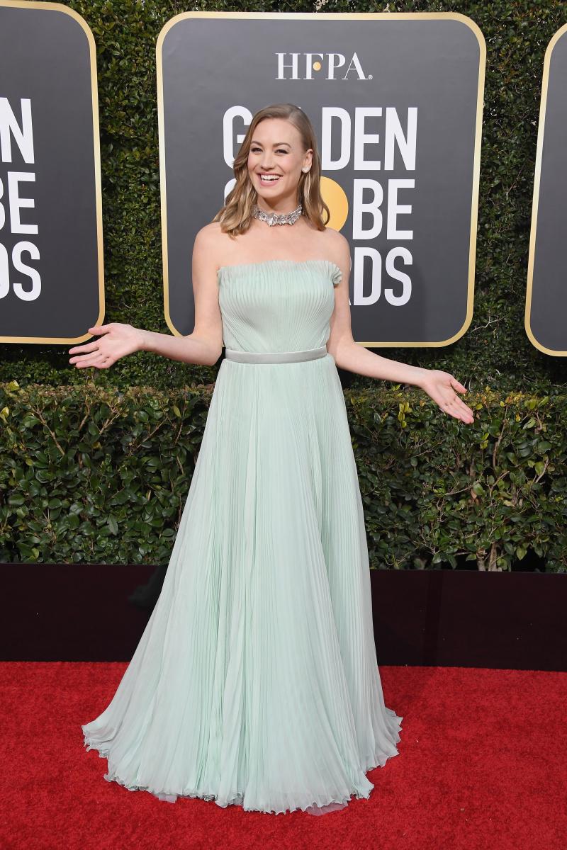 Yvonne Strahovski 2019 Golden Globes