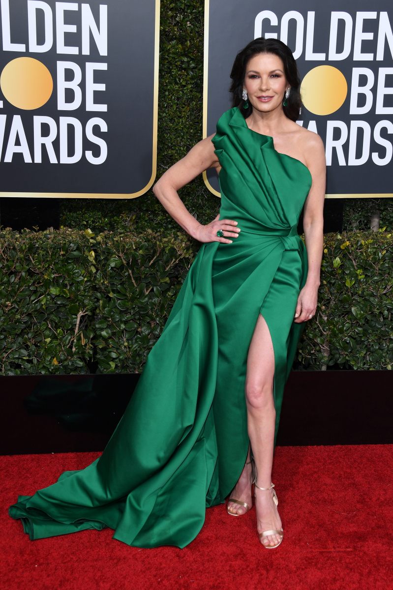 Catherine Zeta Jones 2019 Golden Globes