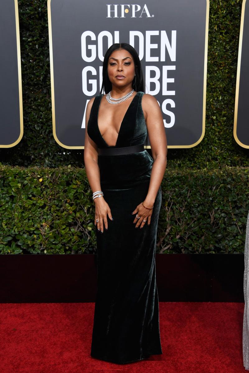 Taraji P. Henson 2019 Golden Globes