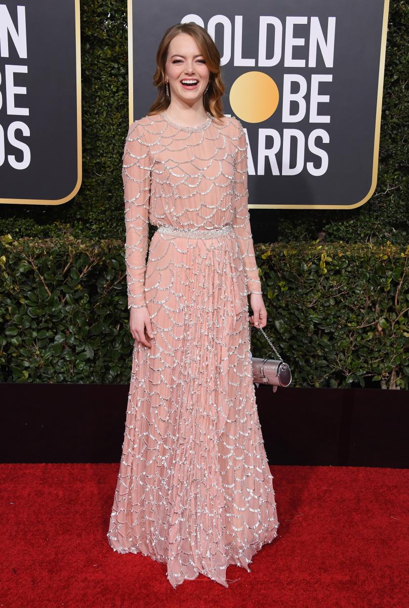 Emma Stone 2019 Golden Globes