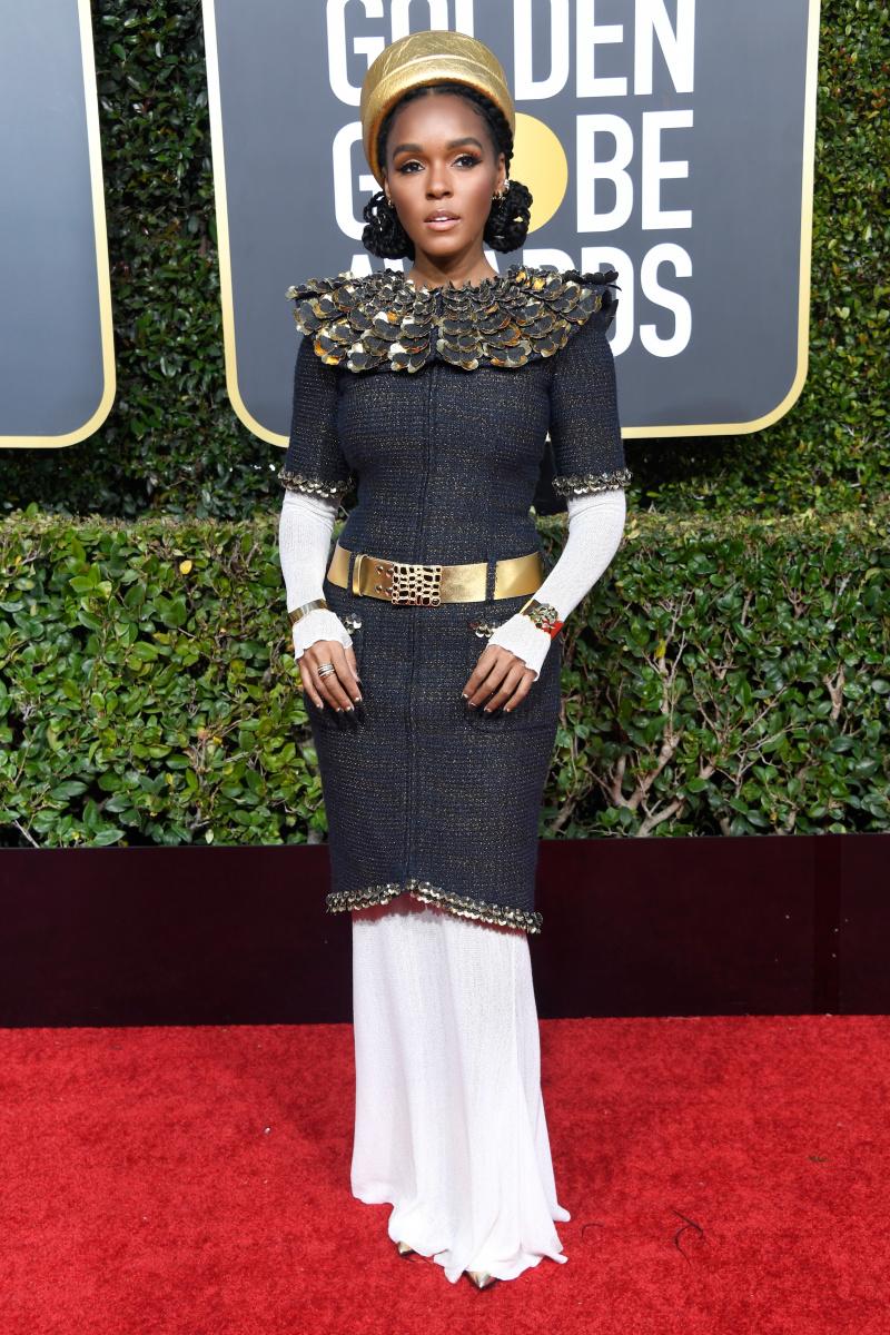 Janelle Monae 2019 Golden Globes