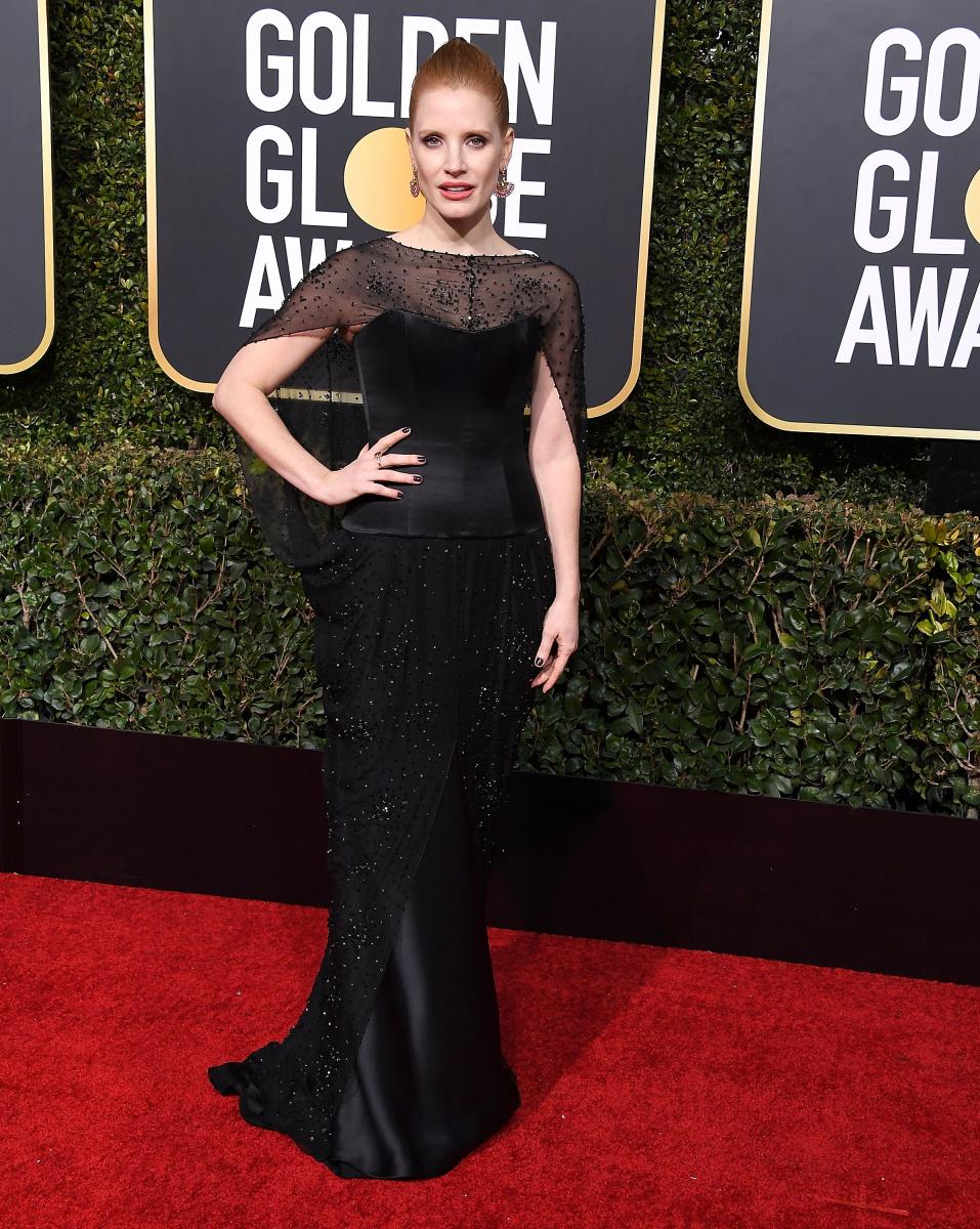 Jessica Chastain 2019 Golden Globes