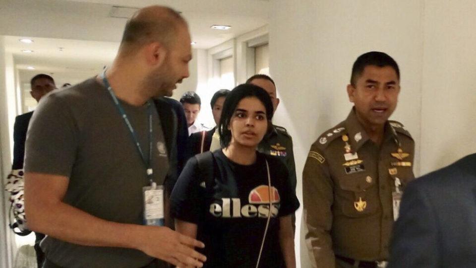 Saudi woman Rahaf