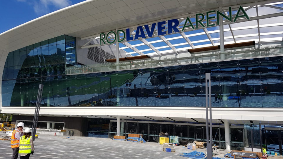 changes to rod laver arena