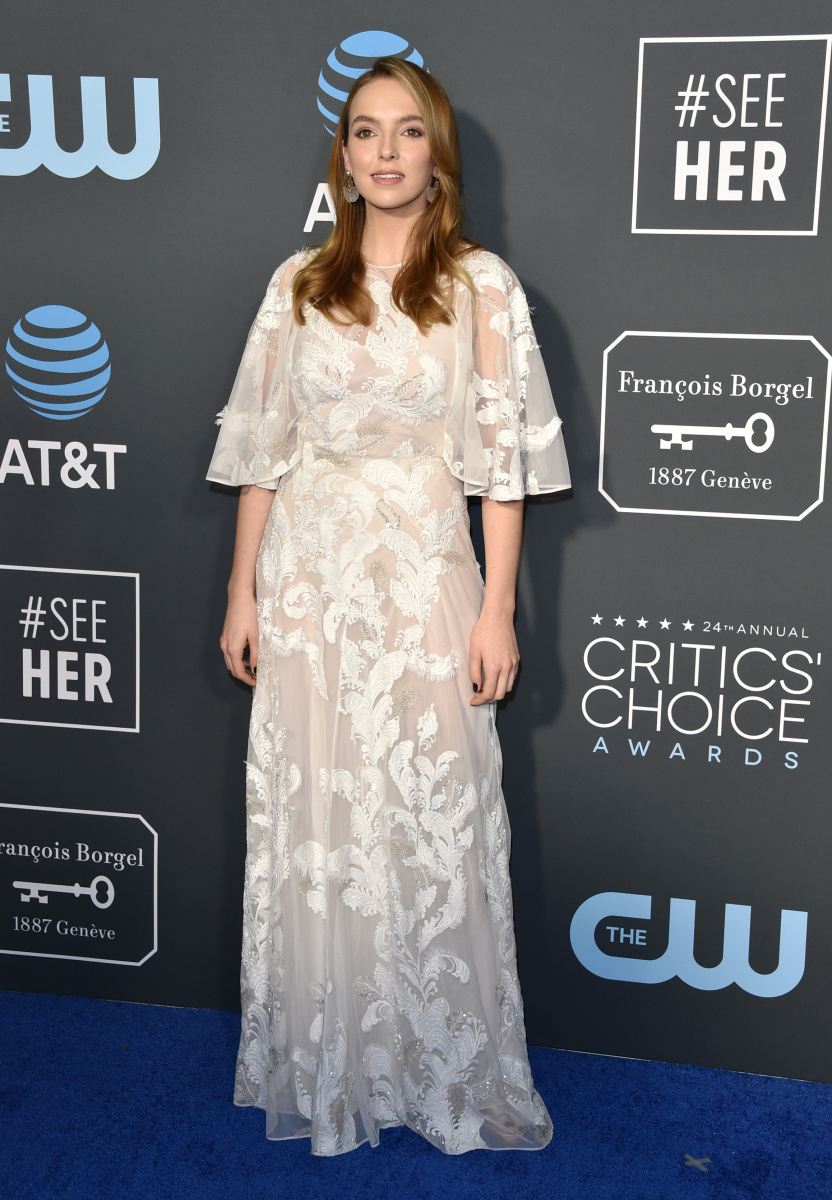 Jodie Comer Critics' Choice 2019