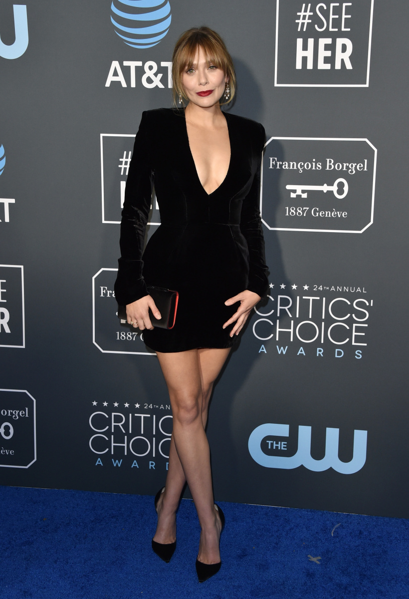 Elizabeth Olsen Critics Choice 2019