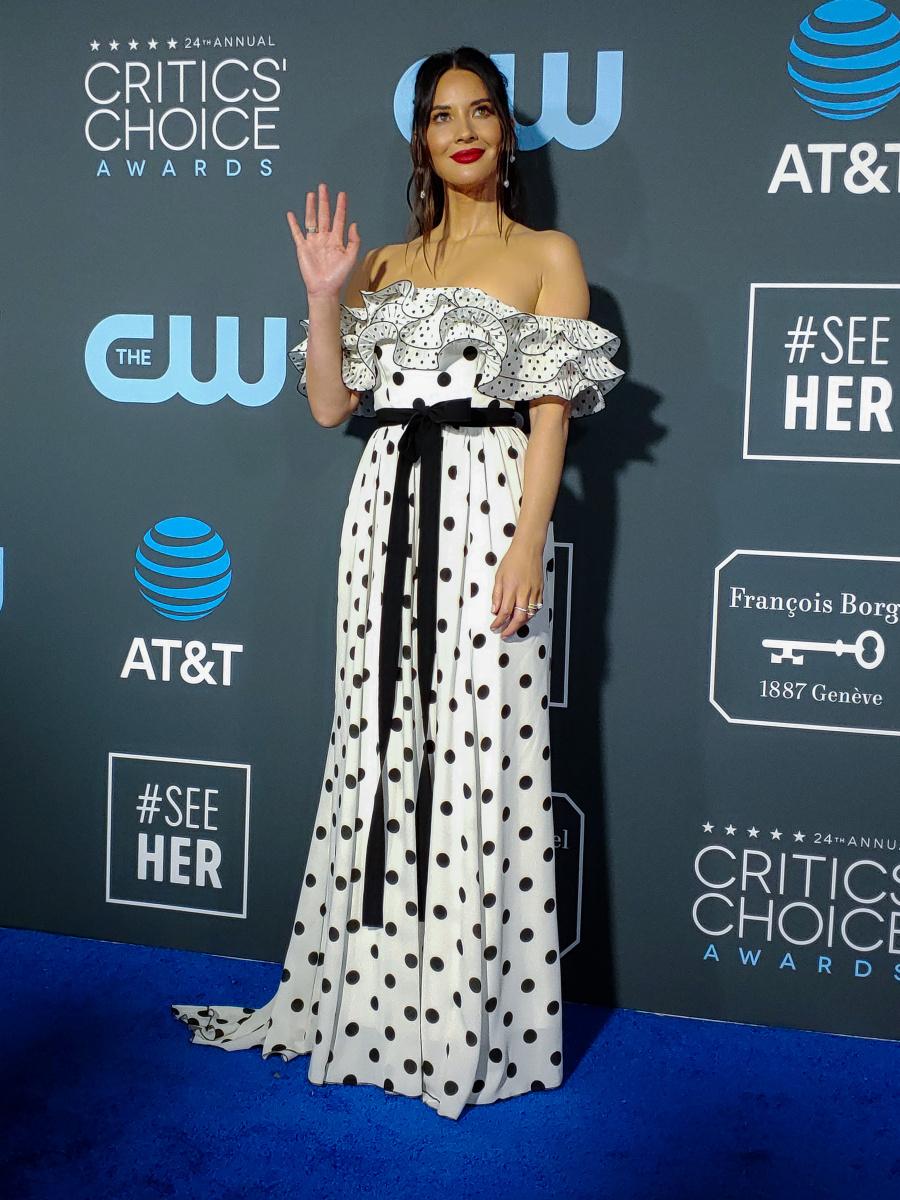 Olivia Munn Critics' Choice 2019