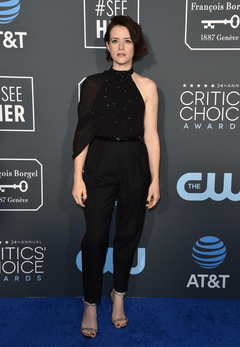Claire Foy Critics Choice 2019