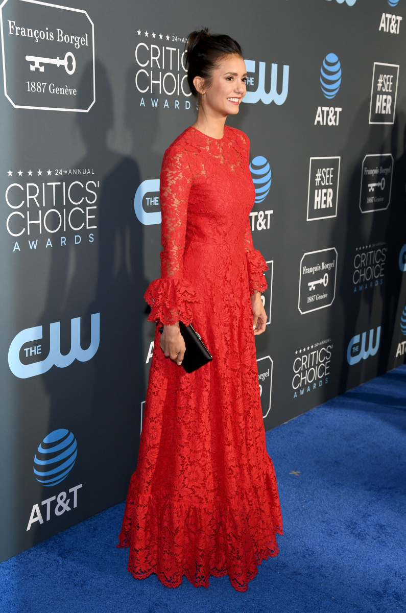 Nina Dobrev Critics Choice 2019