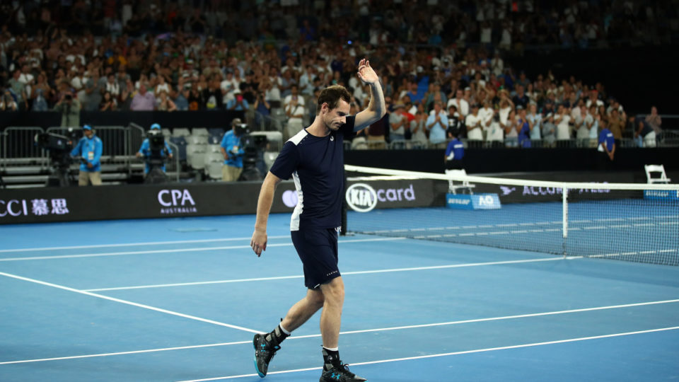 Courageous Andy Murray Falls Short In Possible Last Match