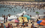 Bondi Beach in summer