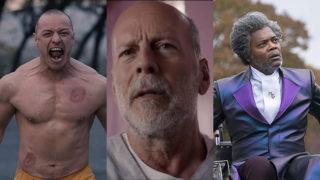 James McEvoy, Bruce Willis and Samuel L Jackson
