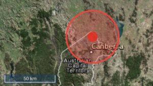 earthquake-canberra