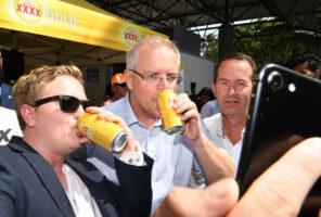 Australian politics getting all Trump-like