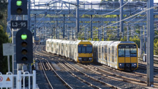 The Transport for NSW contract to upgrade Sydney trains was supposed to be completed last May.