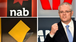 Scott Morrison and the big four banks