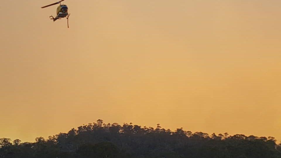 tasmania bushfires