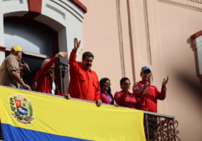 venezuela protest us