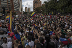 venezuela us protests