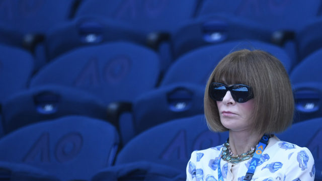 Anna Wintour slams Margaret Court and the prime minister in tennis speech
