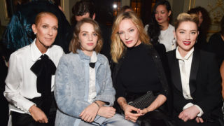 Front row Armani Paris Fashion Week