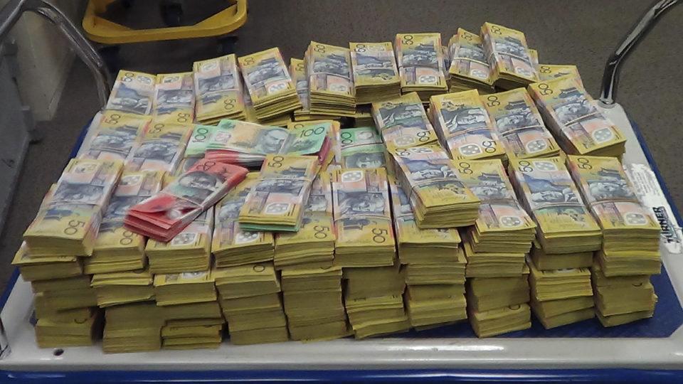 Cash splash.