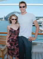 Kylie Minogue and Ian Thorpe