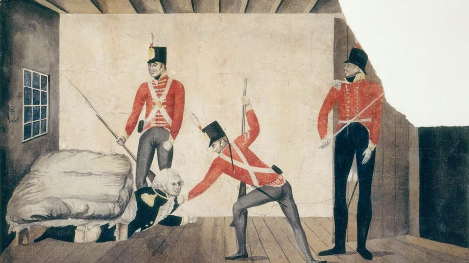 William Bligh arrest