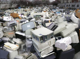 E-waste is a huge problem in Australia.