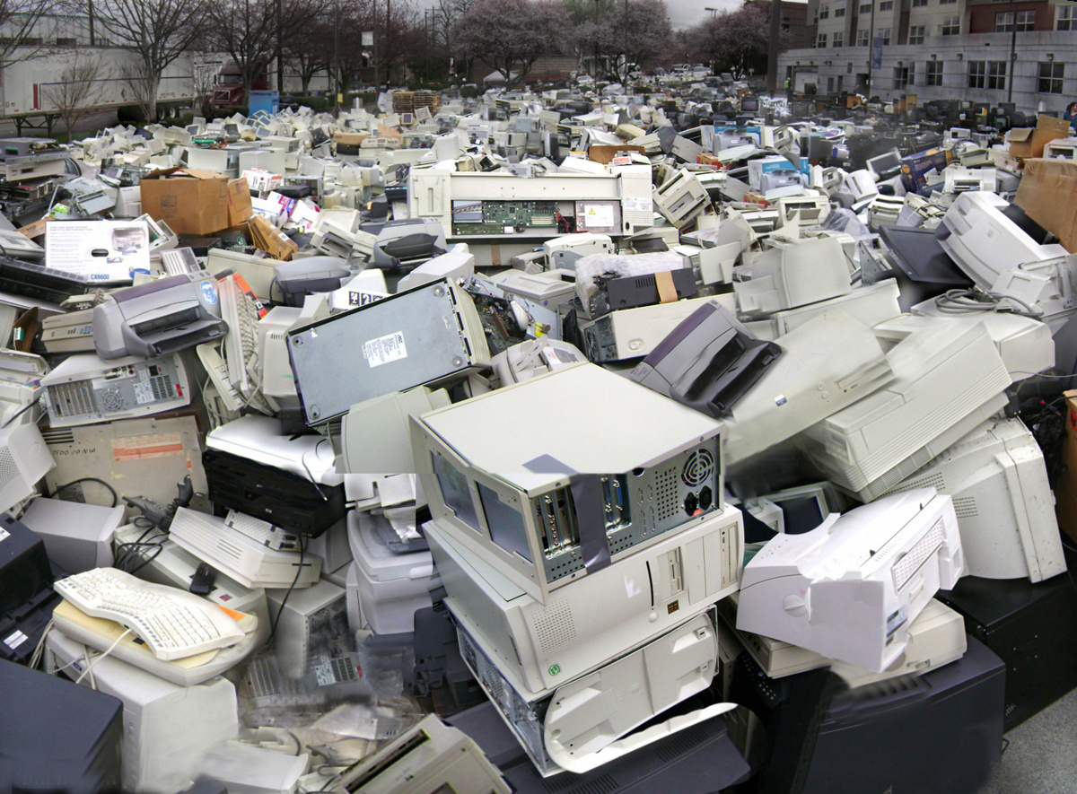 E-waste is a huge problem in Australia.